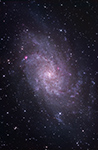 M33, Triangulum-Galaxie